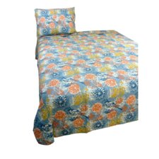 Birds and Blooms Quilt Set