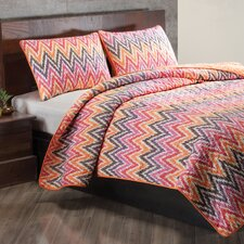 Flamestitch Quilt Set