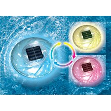 Floating Solar Rainbow Light