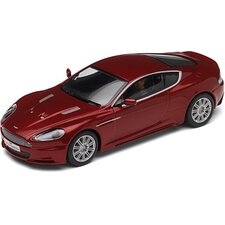 Aston Martin DBS Slot Car in Red