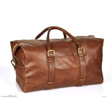 """20"""" Leather Weekender Carry-On Duffel"""
