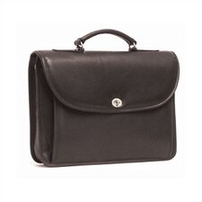 Single Compartment Briefcase with Turnlock