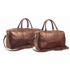 "24"" Leather Travel Duffel"