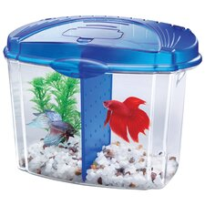 0.5 Gallon Betta Bowl Desktop Aquarium Kit