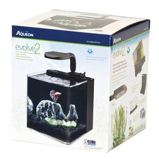 <strong>Aqueon</strong> 2 Gallon Evolve Aquarium Bowl kit