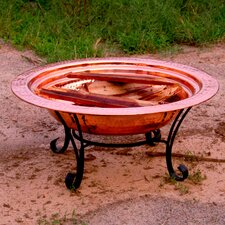 Copper Fire Pit Set