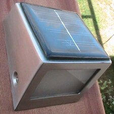 2 Light Solar Wedge Step Light