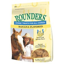 Banana Rounders Horse Treat