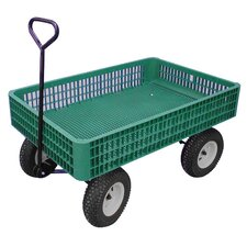 "<strong>Millside Industries</strong> 30"" x 46"" Mesh Deck Wagon"