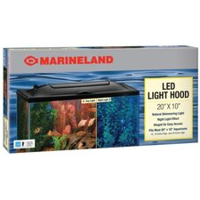 Led Aquarium Hood in Black