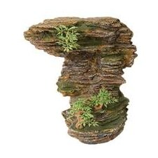 Design Elements Rocky Cliff Overlook Aquarium Ornament