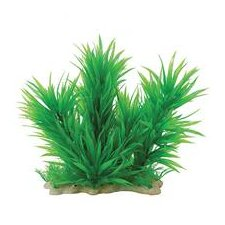 <strong>Pure Aquatic</strong> Natural Elements Blyxa Combo Aquarium Ornament in Green