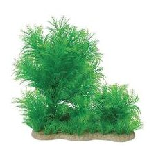 Natural Elements Myriophyllium Combo Aquarium Ornament in Green