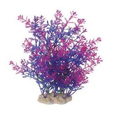 <strong>Pure Aquatic</strong> Natural Elements Lindernia Technicolor Aquarium Ornament in Purple