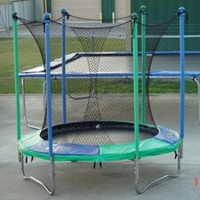 "96"" Round Junior Master Trampoline with Enclosure"