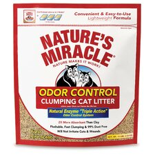 Odor Control Clumping Cat Litter (10 lbs)