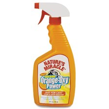 Orange Oxy Cat Stain and Odor Remover