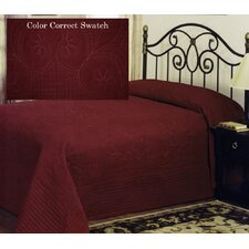 French Tile Microfiber Polyester Bedspread
