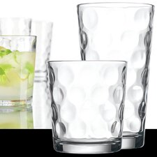 16 Piece Eclipse Glassware Set