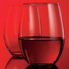 Red Series 21 oz. Stemless Glass (Set of 4)