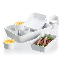 9 Piece Embossed Ring Bakeware Set