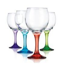 <strong>Home Essentials</strong> Carnival 11 oz. Wine Glass (Set of 4)