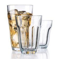 <strong>Home Essentials</strong> 18 Piece Manor Drink Glass Set