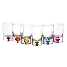 2.5 oz.. Bubble Whiskey Shot Glass (Set of 6)