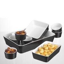 <strong>Home Essentials</strong> 9 Piece Embossed Ring Bakeware Set