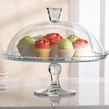 Sweet Cake Plate with Dome