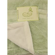 <strong>beansprout</strong> Luxe Mink to Micro Mink Crib Throw Blanket