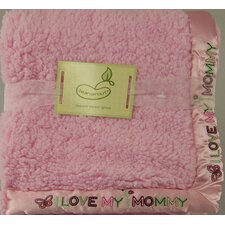 Saying Crib Throw Blanket
