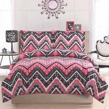 Kylee Chevron Comforter Set