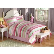 <strong>My World</strong> Annas Ruffle Quilt Set