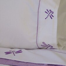 <strong>My World</strong> Dragonfly Butterfly 200 Thread Count Sheet Set