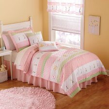 Tara Stripe Quilt Set
