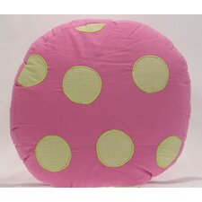 Crazy Ladybug Cotton Pillow