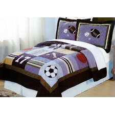 All State 3 Piece Quilt Set