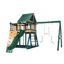 Congo Monkey Green and Cedar Playsystem 1