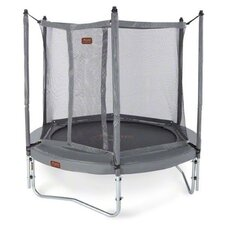 JumpFree Proline 8' Round Trampoline with Safety Enclosure