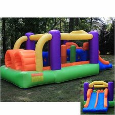 Obstacle Racer Bounce House