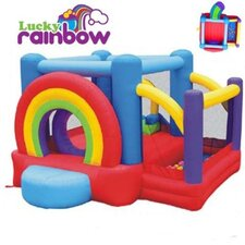Lucky Rainbow Bounce House