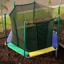 12 ft. Hexagon Trampoline with Enclosure