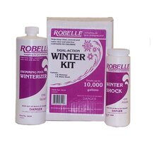 10.000 Gallon Pool Dual Action Winterizing Kit