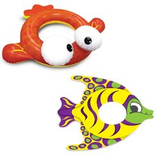 Finley Fish Swim Tube (Set of 2)