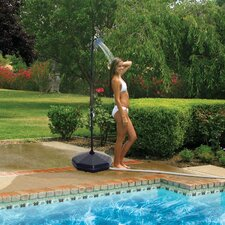 Poolside Solar Outdoor Shower