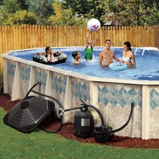 Above-Ground Pool Solar Heater