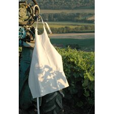 Storing White Canvas Apron