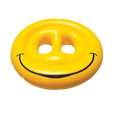 Smiley Face Fun Island Pool Lounger