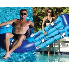 Riviera Float Pool Mattress and Riviera Ring